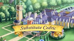 Substitute Cedric title card