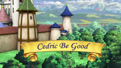 Cedric Be Good title card