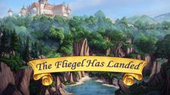 The Fliegel Has Landed title card