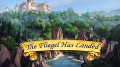 The Fliegel Has Landed title card