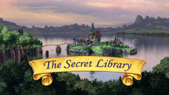The Secret Library title card