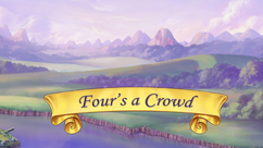 Four's a Crowd title card