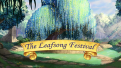 The Leafsong Festival title card