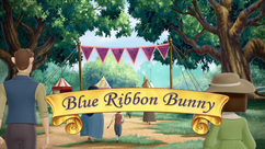 Blue Ribbon Bunny title card