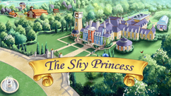 The Shy Princess title card
