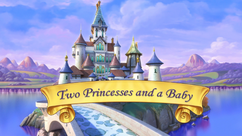 Two Princesses and a Baby title card