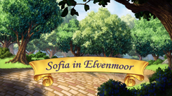 Sofia in Elvenmoor title card