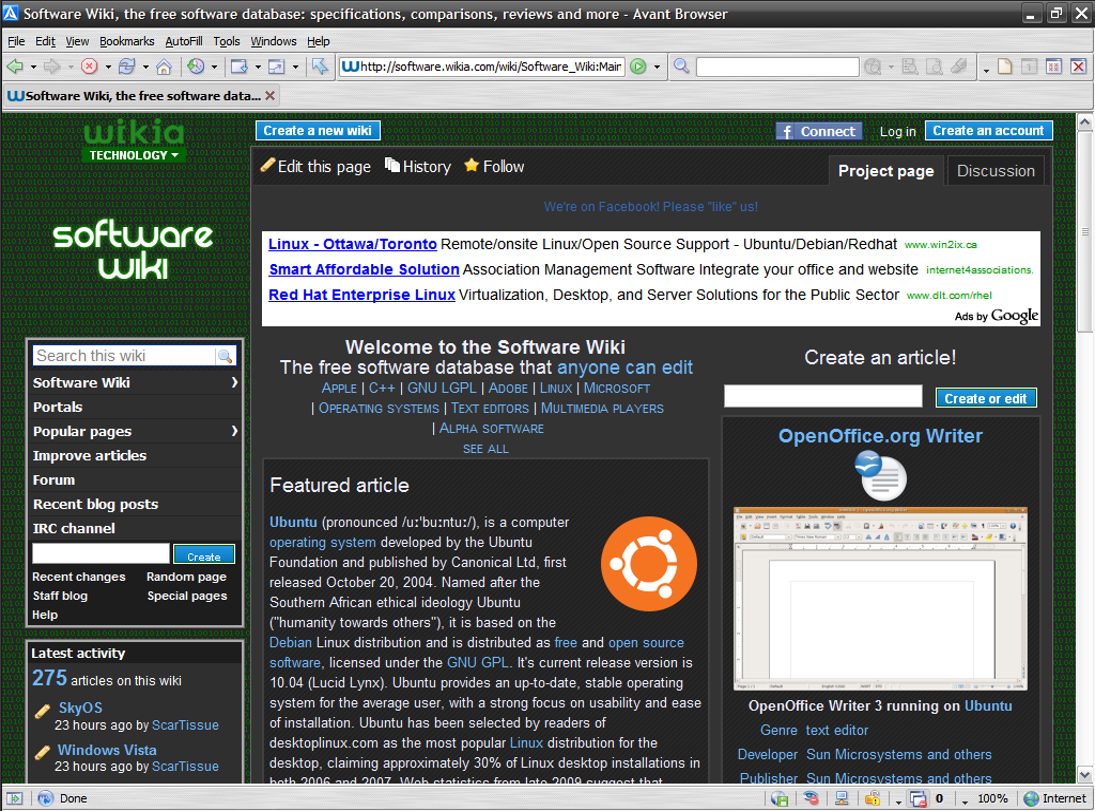 avant browser 11.7