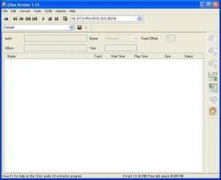 CDex 1.51-Windows XP