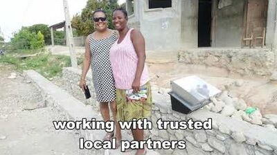 Solar Cookers International working in Haiti