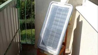 Capteur solaire à air AilettoCap Plus (autoconstruction)