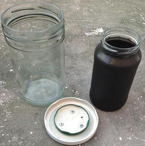 Glass jar cooking chmaber, Bernhard Müller, 10-7-13