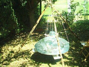 Tripod Solar Cooker 2