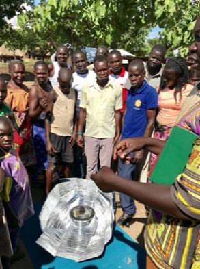 Uganda, Haines cooker evaluation, 7-13-18