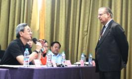 Shyam Nandwani at China convention, 9-18-17
