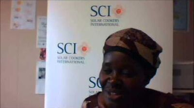 Dinah Chienjo Visits Solar Cookers International, March 2014