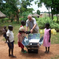 Sun Oven Project in Gulu Uganda