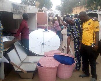Togo Tile market stall 2016
