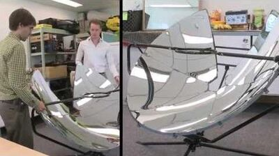 Green Reflections Solar Cooker Saves Energy and Lives
