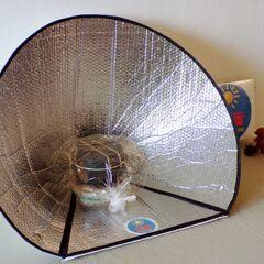 Fig. 4. Popot scout dans le sac inséré dans le cuiseur