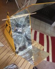 Wedge Solar Cooker