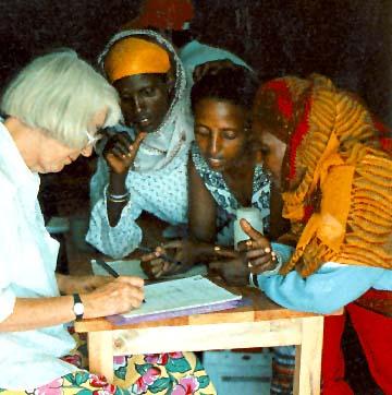 File:Barbara Knudson at refugee camp.jpg