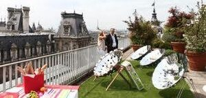 ID Cook Paris solar cooking demonstration, 9-24-14