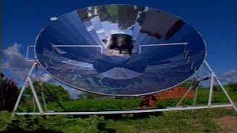 O fogão solar muda a vida do agricultor