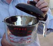 Pyrex pan glazing