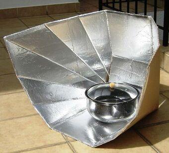 Fun-Panel | Solar Cooking | Fandom