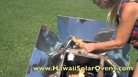 Hilo Solar Oven, Hilo Life w Tom Callos