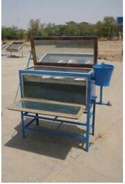 Integrated solar dryer