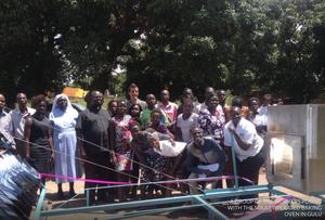 GoSol oven in Uganda, 10-30-18