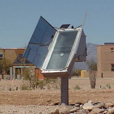 Nichols Tracking Solar Cooker