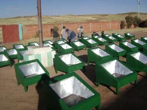 CECAM Bolivia stoves