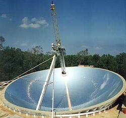 Auroville Solar Bowl 1