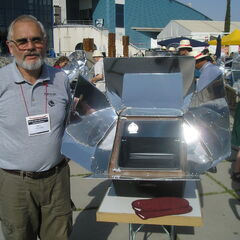 Solar Cooking Demo in Spain