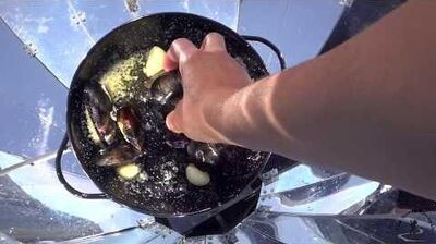 Sunchef Sara - Episode 1 Steamed mussels in white wine and garlic