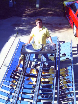 Large Solar Cooker