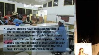 Otte Relevant factors for the successful adoption of institutional solar cookers