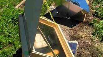 Four solar cooking