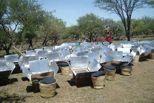 Macadonia Ministry cookers in Tanzania, 3-4-14