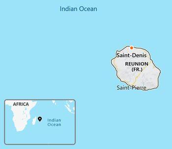 Reunion map
