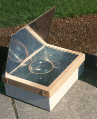 Minimum Solar Box Cooker Photo large