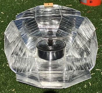 Haines 2.0 Solar Cooker