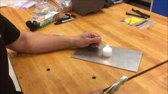 VIdeo 5 Making WAPIs with candle flame
