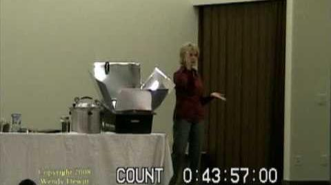 Wendy Dewitt -- Food Storage Seminar, Part 7 of 9