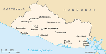 El Salvador map, wc,12-27-15