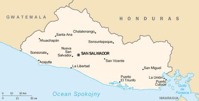 El Salvador map, wc,12-27-15