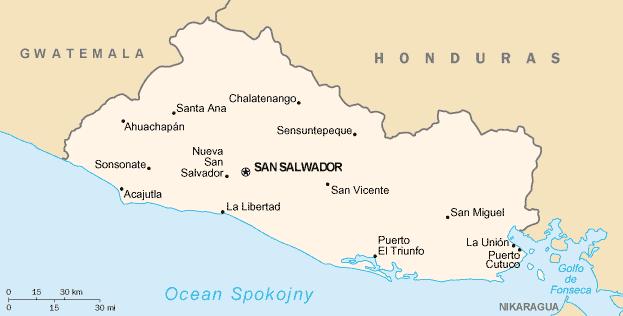 Image - El Salvador map, wc,12-27-15.png | Solar Cooking | FANDOM ...